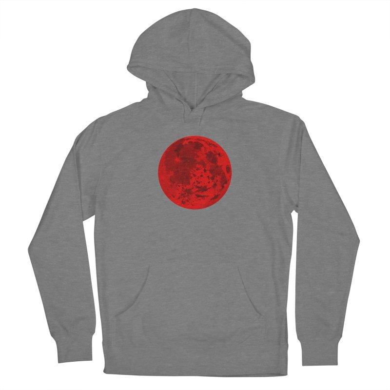 Blood Moon Women's Pullover Hoody by jokertoons's Artist Shop
