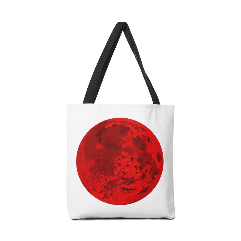 Blood Moon Accessories Bag by jokertoons's Artist Shop