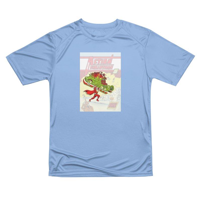 Action Christmas Super Santa! Men's T-Shirt by jokertoons's Artist Shop