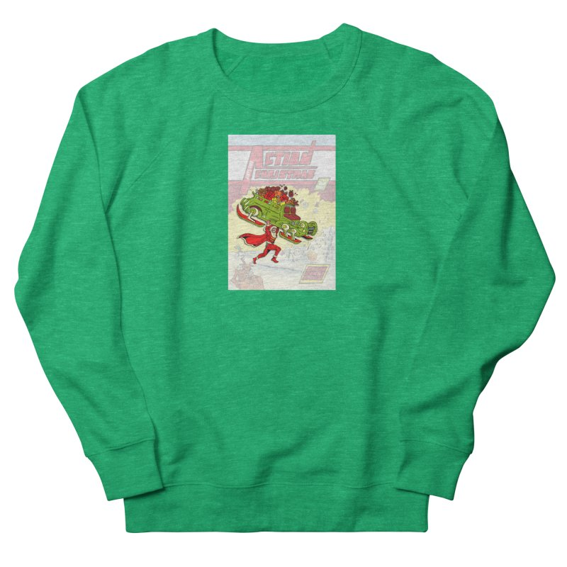 Action Christmas Super Santa! Women's Sweatshirt by jokertoons's Artist Shop