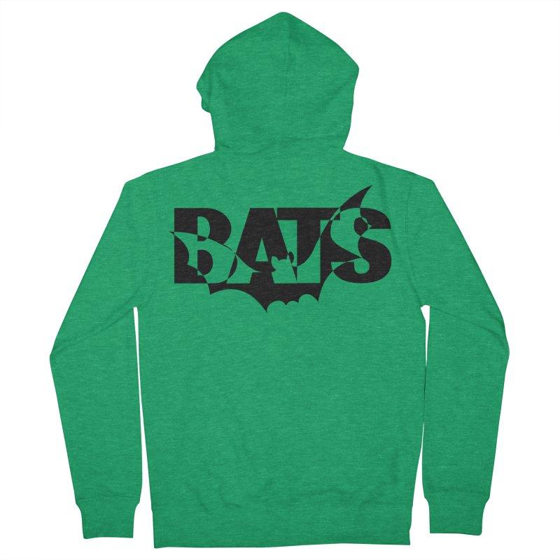 Bats! Men's Zip-Up Hoody by jokertoons's Artist Shop
