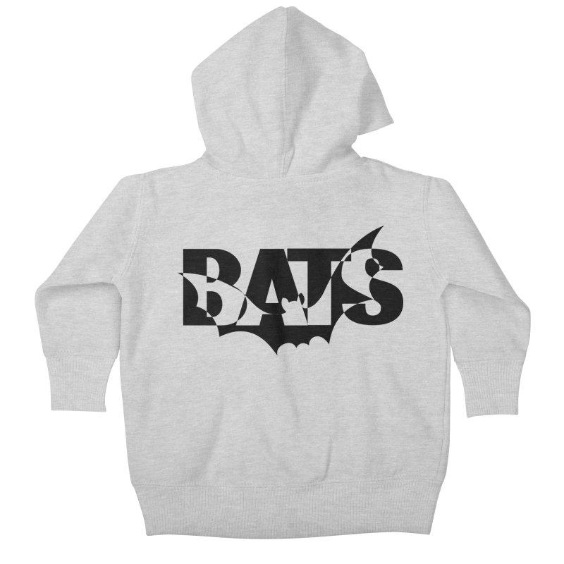 Bats! Kids Baby Zip-Up Hoody by jokertoons's Artist Shop