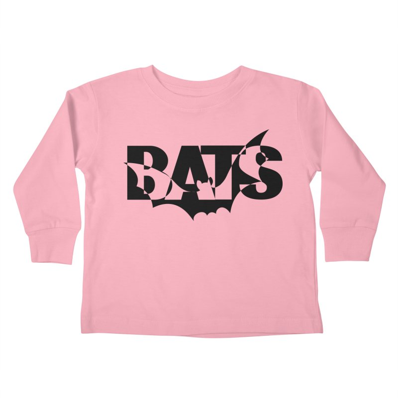 Bats! Kids Toddler Longsleeve T-Shirt by jokertoons's Artist Shop