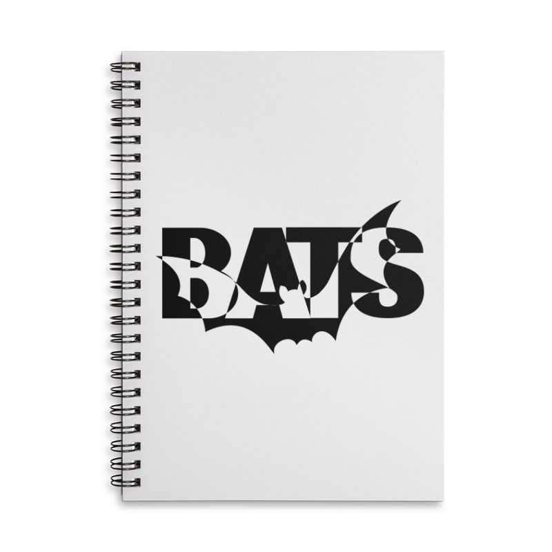 Bats! Accessories Notebook by jokertoons's Artist Shop