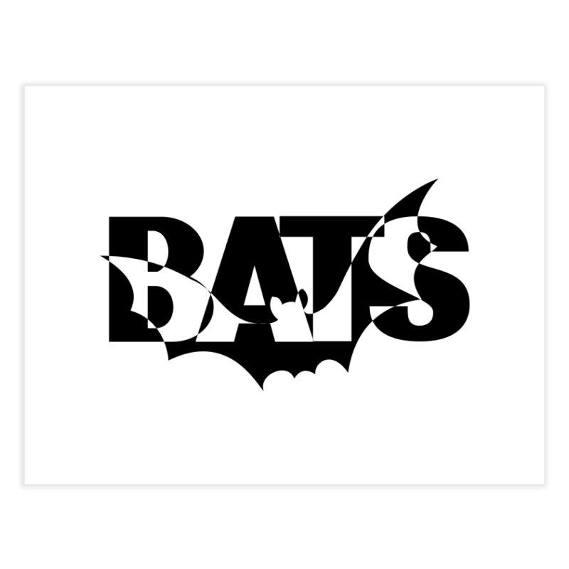 Bats! Home Fine Art Print by jokertoons's Artist Shop