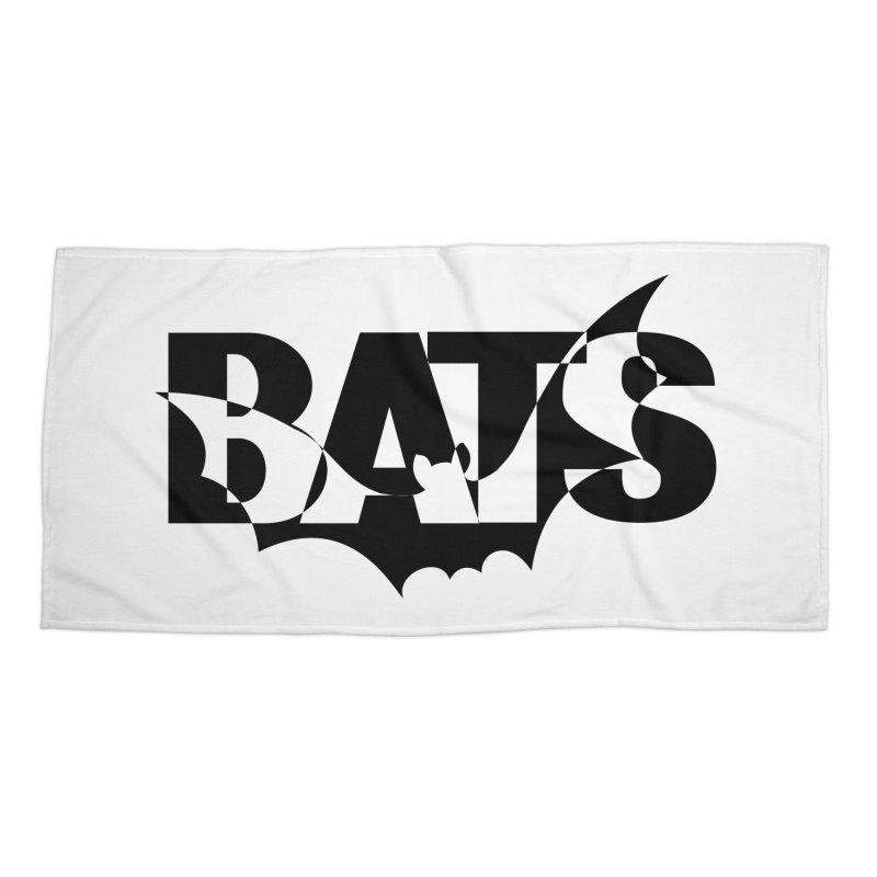 Bats! Accessories Beach Towel by jokertoons's Artist Shop