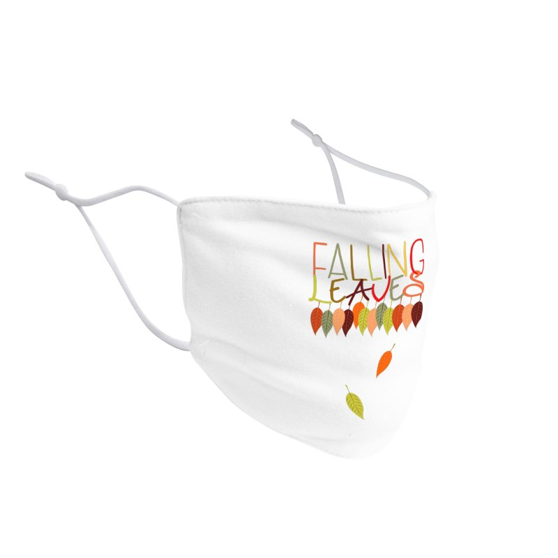 Falling Leaves Accessories Face Mask by jokertoons's Artist Shop