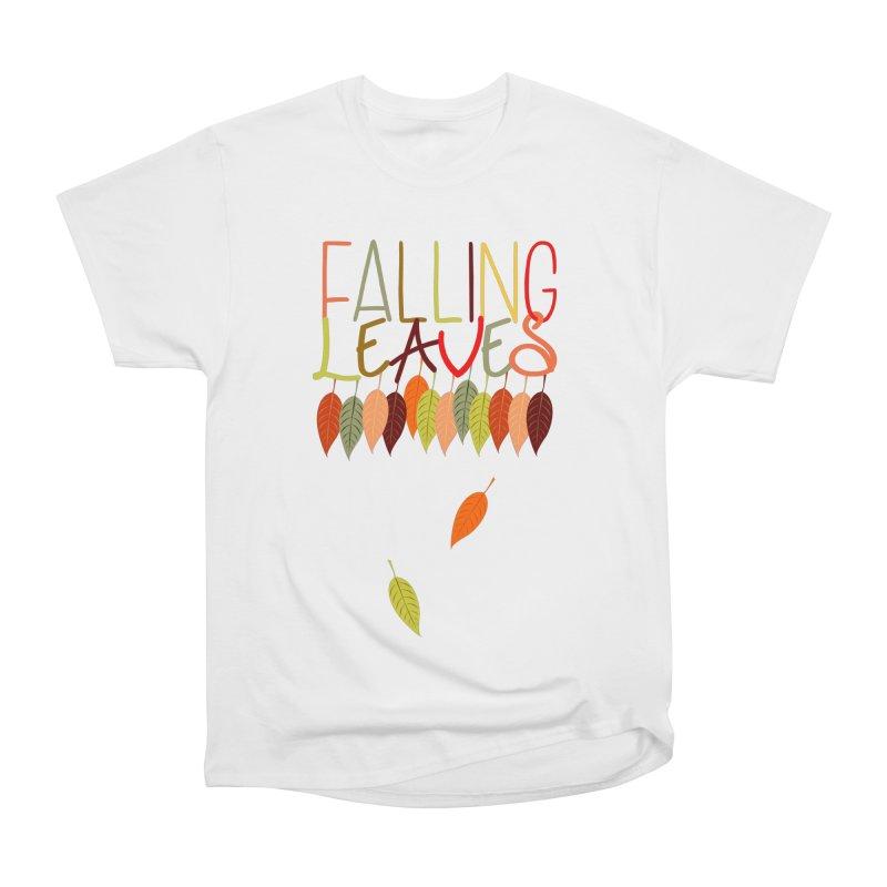 Falling Leaves Women's T-Shirt by jokertoons's Artist Shop
