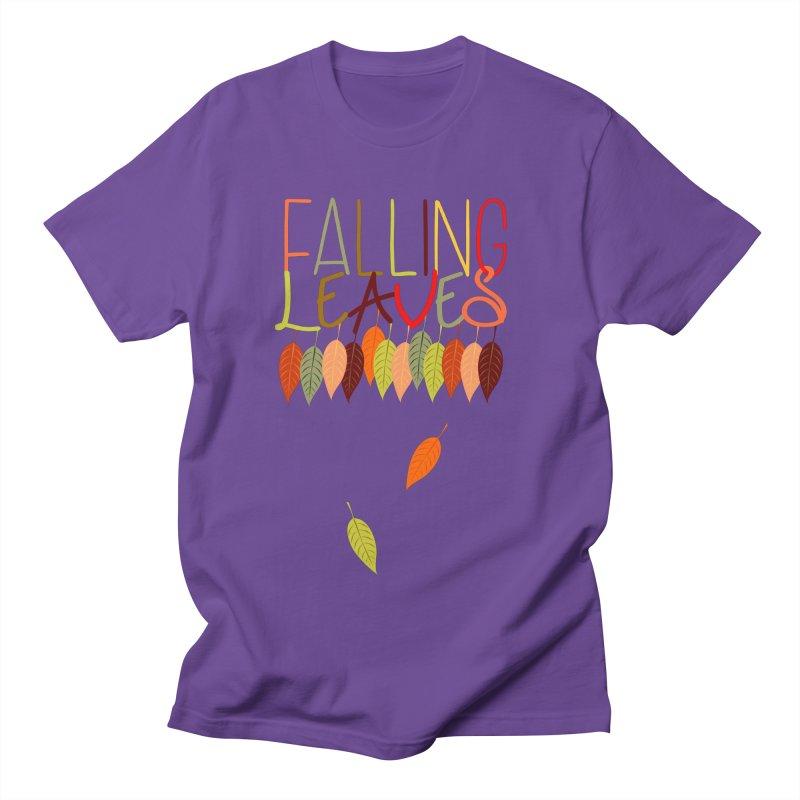 Falling Leaves Men's T-Shirt by jokertoons's Artist Shop