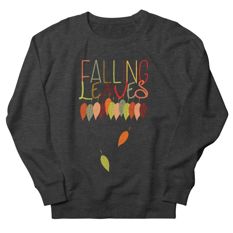Falling Leaves Women's Sweatshirt by jokertoons's Artist Shop