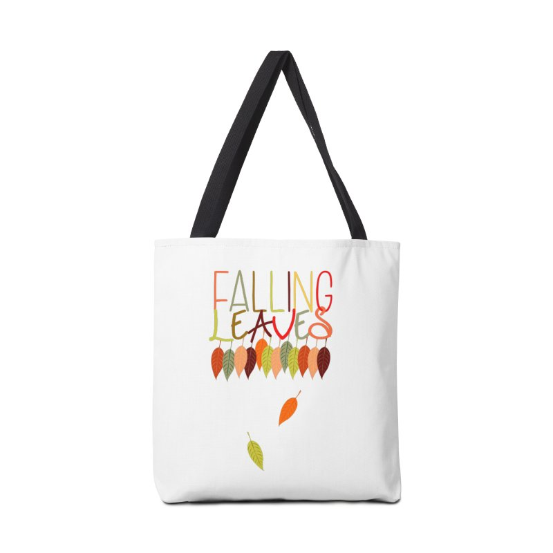 Falling Leaves Accessories Bag by jokertoons's Artist Shop