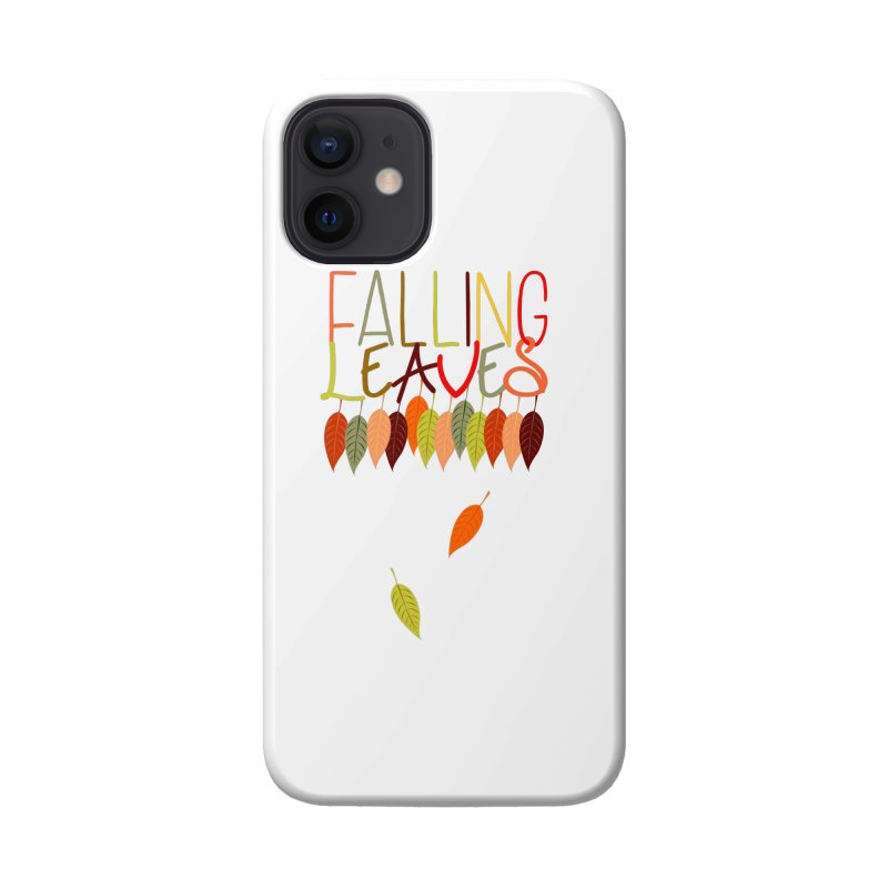 Falling Leaves Accessories Phone Case by jokertoons's Artist Shop