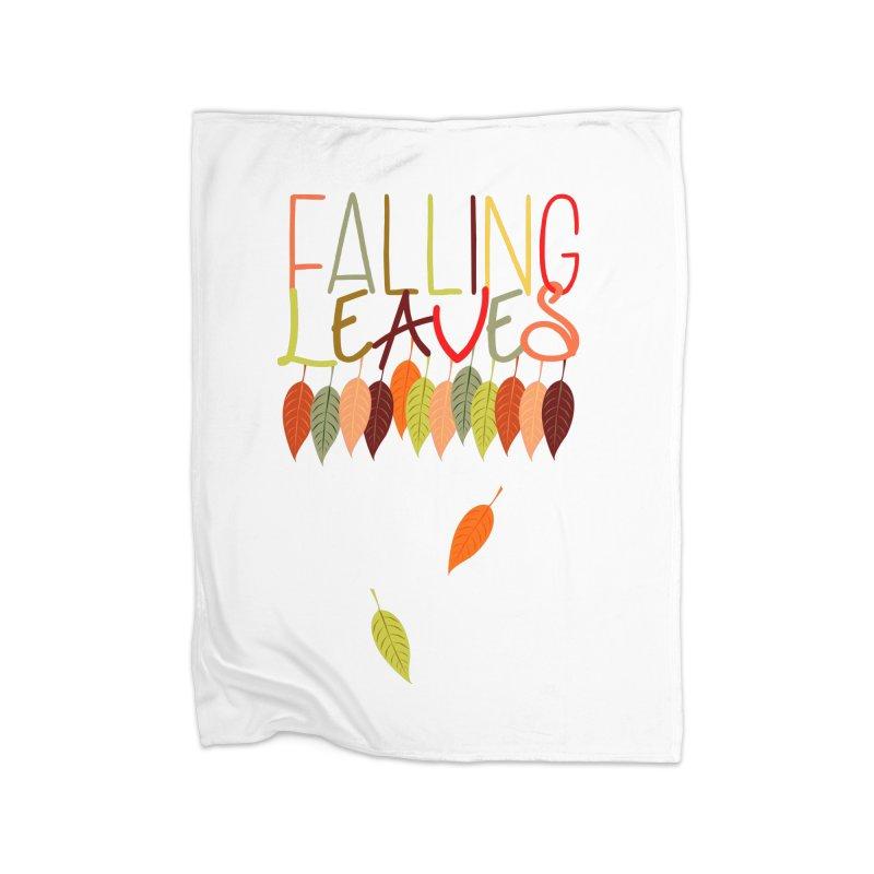 Falling Leaves Home Blanket by jokertoons's Artist Shop