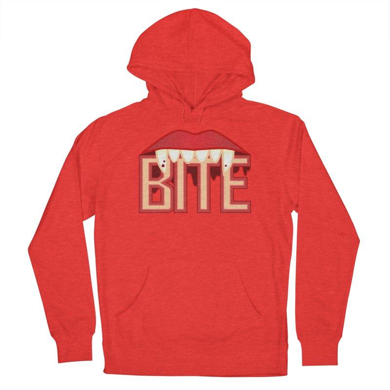 Bite Men's Pullover Hoody by jokertoons's Artist Shop