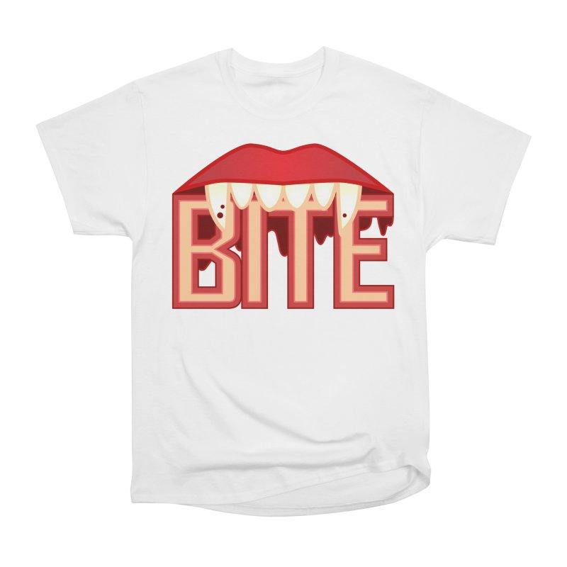 Bite Women's T-Shirt by jokertoons's Artist Shop