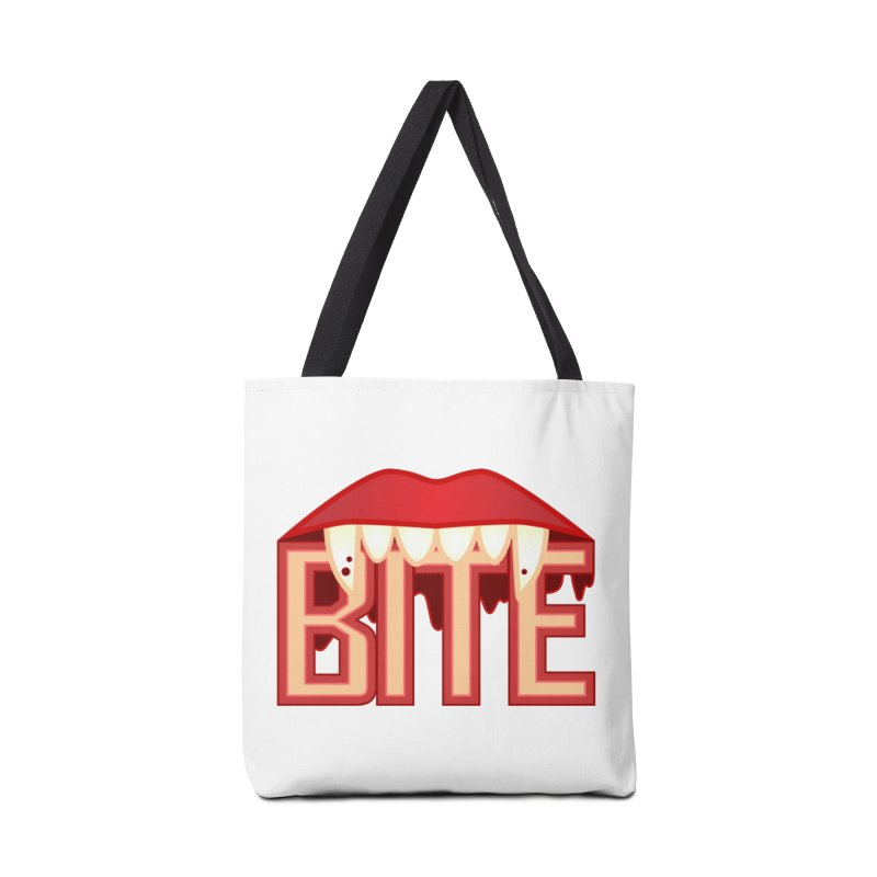 Bite Accessories Bag by jokertoons's Artist Shop