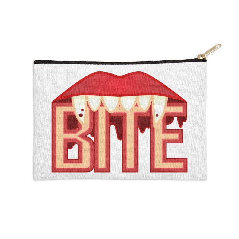 Bite Accessories Zip Pouch by jokertoons's Artist Shop