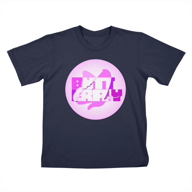 Butterfly Kids T-Shirt by jokertoons's Artist Shop