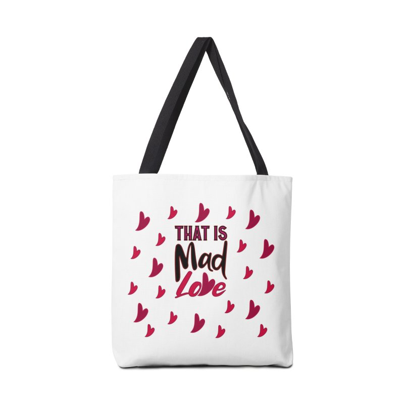 That is Mad Love Accessories Bag by jokertoons's Artist Shop