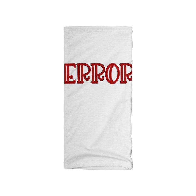 Error Accessories Neck Gaiter by jokertoons's Artist Shop