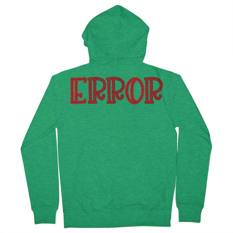 Error Men's Zip-Up Hoody by jokertoons's Artist Shop
