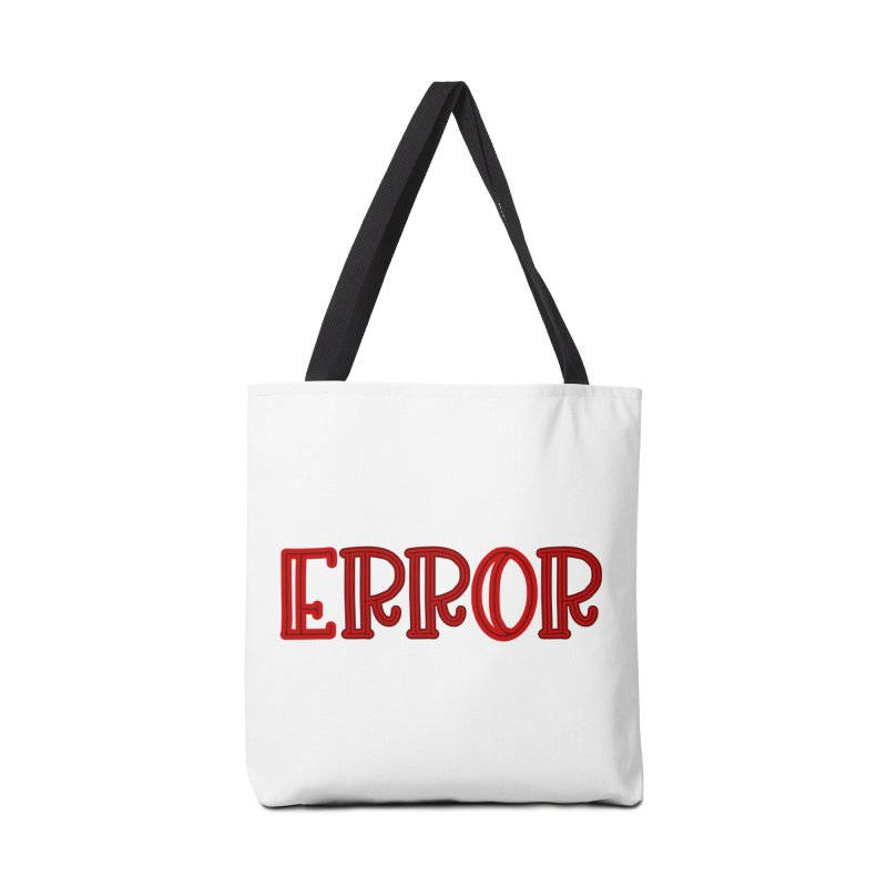 Error Accessories Bag by jokertoons's Artist Shop