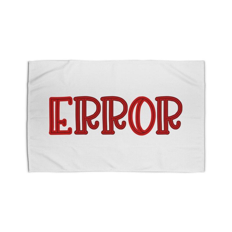 Error Home Rug by jokertoons's Artist Shop