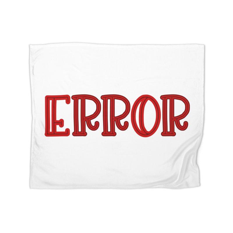 Error Home Blanket by jokertoons's Artist Shop