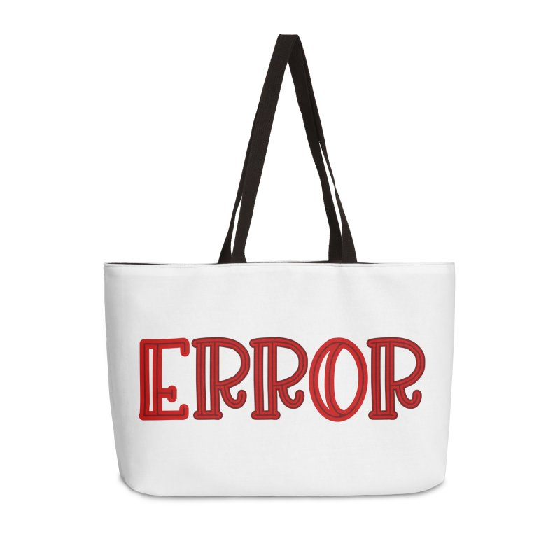 Error Accessories Bag by jokertoons's Artist Shop