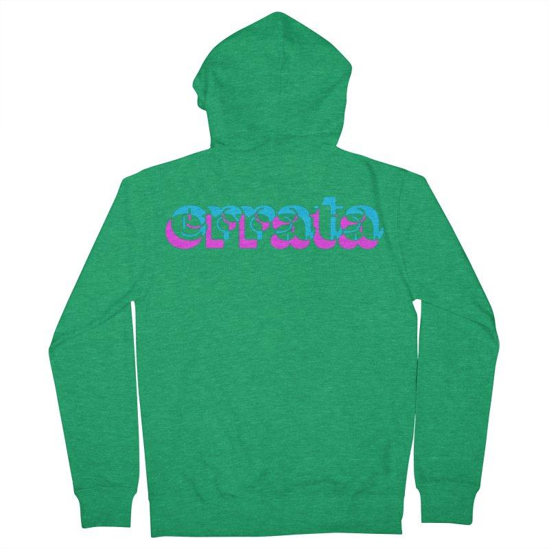 Errata Women's Zip-Up Hoody by jokertoons's Artist Shop