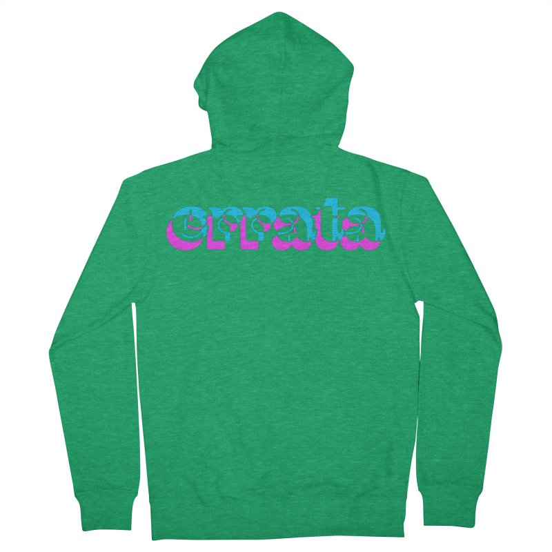 Errata Men's Zip-Up Hoody by jokertoons's Artist Shop