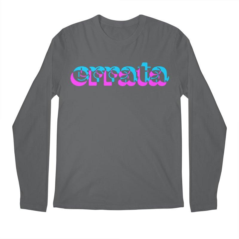 Errata Men's Longsleeve T-Shirt by jokertoons's Artist Shop