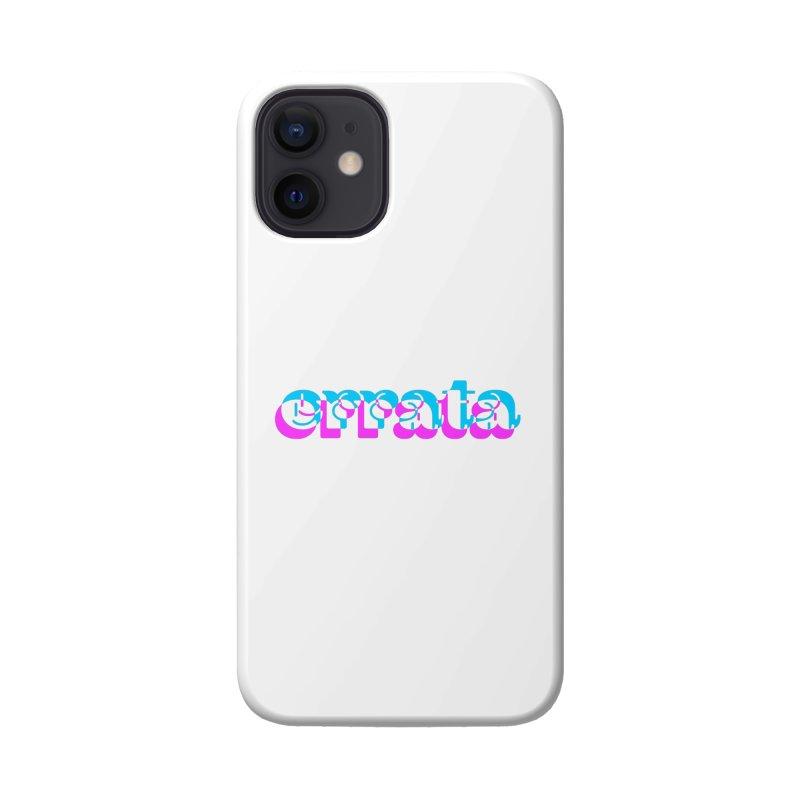 Errata Accessories Phone Case by jokertoons's Artist Shop