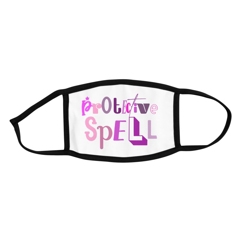 Protective Spell Accessories Face Mask by jokertoons's Artist Shop
