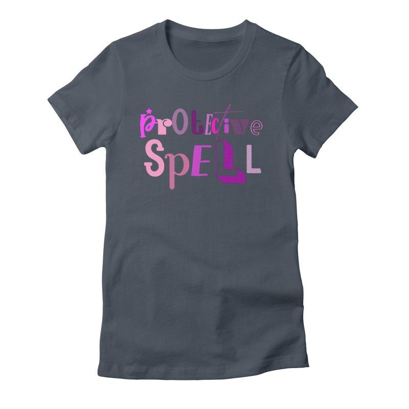 Protective Spell Women's T-Shirt by jokertoons's Artist Shop