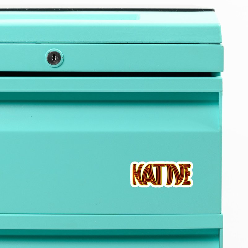 NATIVE Accessories Magnet by jokertoons's Artist Shop