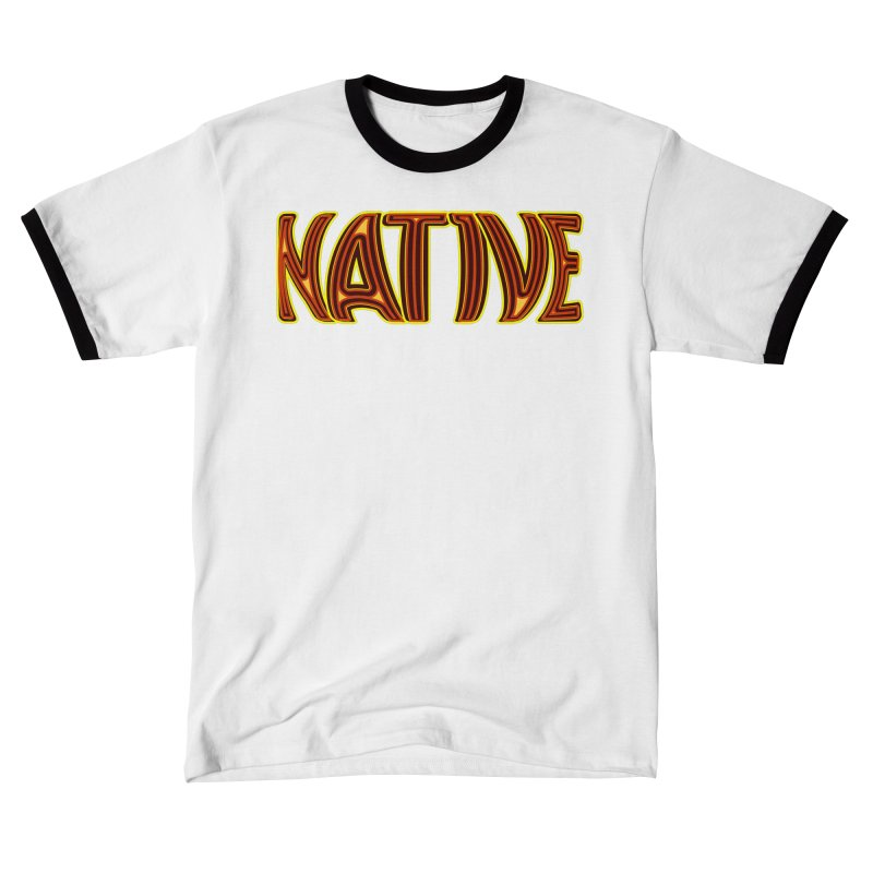 NATIVE Men's T-Shirt by jokertoons's Artist Shop
