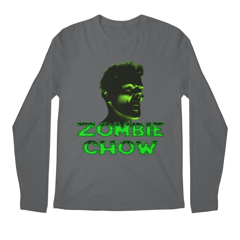 Zombie Chow Men's Longsleeve T-Shirt by Magickal Vision: The Art of Jolie E. Bonnette