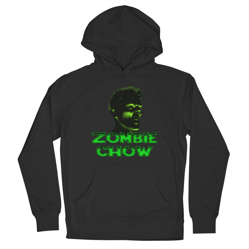 Zombie Chow Women's French Terry Pullover Hoody by Magickal Vision: The Art of Jolie E. Bonnette