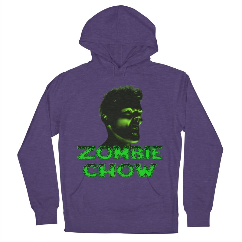 Zombie Chow Men's Pullover Hoody by Magickal Vision: The Art of Jolie E. Bonnette