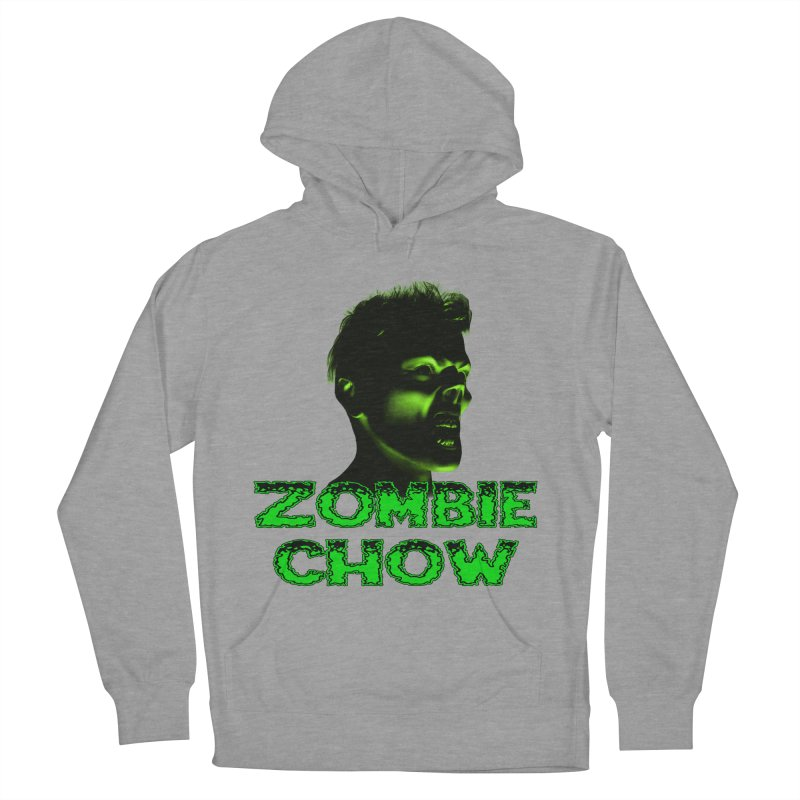 Zombie Chow Men's French Terry Pullover Hoody by Magickal Vision: The Art of Jolie E. Bonnette