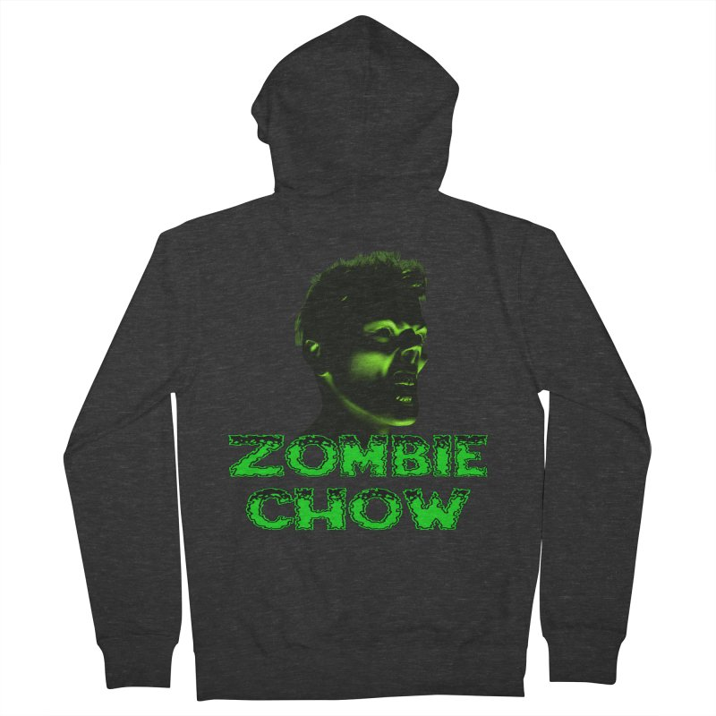 Zombie Chow Men's Zip-Up Hoody by Magickal Vision: The Art of Jolie E. Bonnette