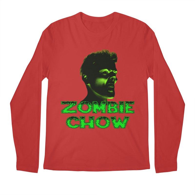 Zombie Chow Men's Regular Longsleeve T-Shirt by Magickal Vision: The Art of Jolie E. Bonnette