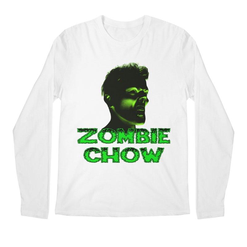 Zombie Chow Men's Longsleeve T-Shirt by Magickal Vision: The Art of Jolie E. Bonnette
