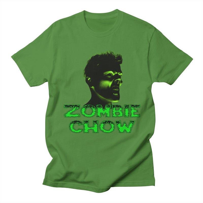 Zombie Chow Men's T-Shirt by Magickal Vision: The Art of Jolie E. Bonnette