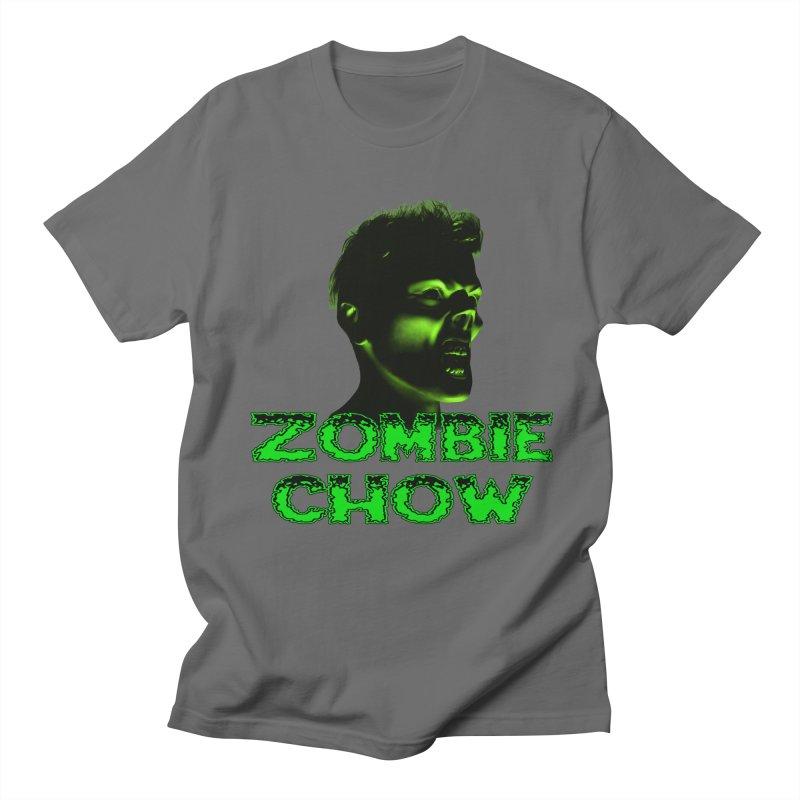 Zombie Chow Men's Regular T-Shirt by Magickal Vision: The Art of Jolie E. Bonnette