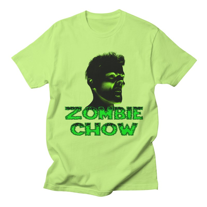 Zombie Chow Men's Regular T-Shirt by Magickal Vision: The Art of Jolie E. Bonnette