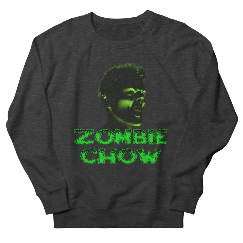 Zombie Chow Women's French Terry Sweatshirt by Magickal Vision: The Art of Jolie E. Bonnette