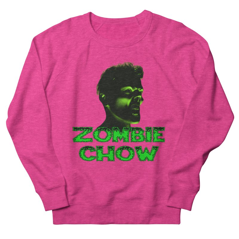 Zombie Chow Men's French Terry Sweatshirt by Magickal Vision: The Art of Jolie E. Bonnette