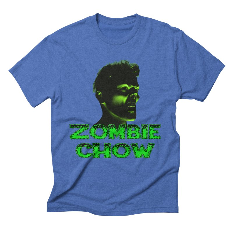 Zombie Chow Men's Triblend T-Shirt by Magickal Vision: The Art of Jolie E. Bonnette